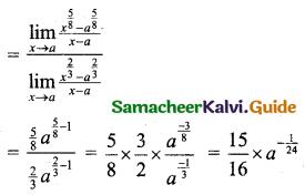 Samacheer Kalvi 11th Business Maths Guide Chapter 5 Differential Calculus Ex 5.2 Q1.6