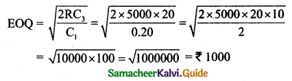 Samacheer Kalvi 11th Business Maths Guide Chapter 6 Applications of Differentiation Ex 6.6 Q20