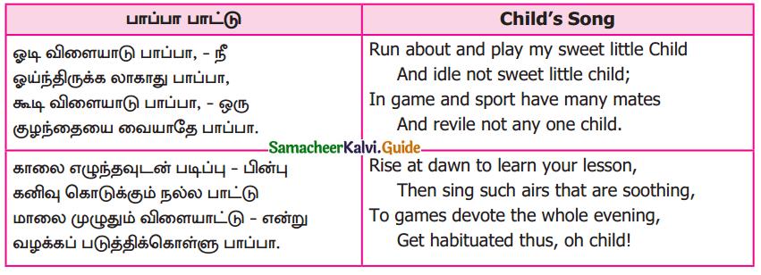 Samacheer Kalvi 9th Tamil Guide Chapter 5.5 இடைச்சொல் - உரிச்சொல் - 5