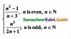 Samacheer Kalvi 10th Maths Guide Chapter 2 Numbers and Sequences Ex 2.4 1