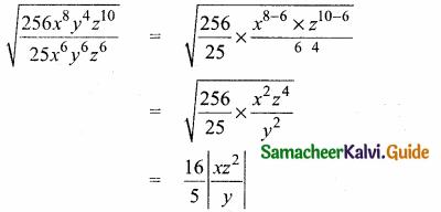 Samacheer Kalvi 10th Maths Guide Chapter 3 Algebra Ex 3.19 10