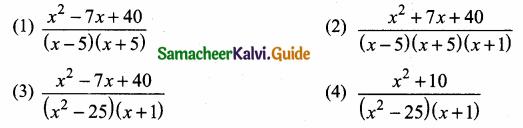 Samacheer Kalvi 10th Maths Guide Chapter 3 Algebra Ex 3.19 5