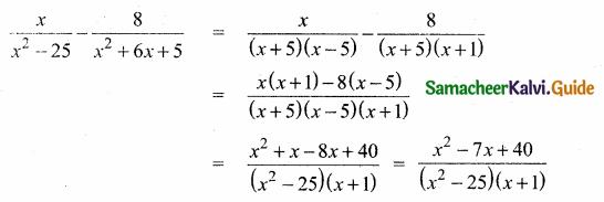 Samacheer Kalvi 10th Maths Guide Chapter 3 Algebra Ex 3.19 7
