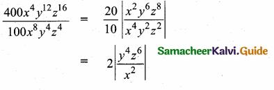 Samacheer Kalvi 10th Maths Guide Chapter 3 Algebra Ex 3.7 1
