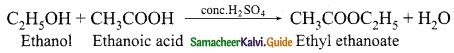Samacheer Kalvi 10th Science Guide Chapter 11 Carbon and its Compounds 18