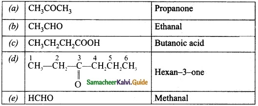 Samacheer Kalvi 10th Science Guide Chapter 11 Carbon and its Compounds 20