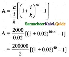 Samacheer Kalvi 11th Business Maths Guide Chapter 7 Financial Mathematics Ex 7.1 Q2