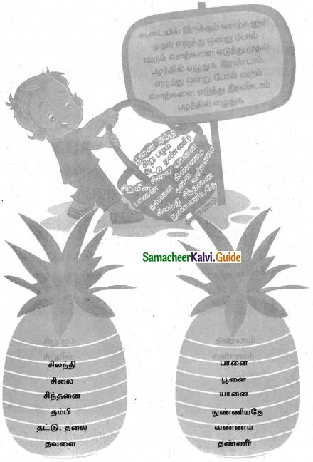 Samacheer Kalvi 4th Tamil Guide Chapter 7 வெற்றி வேற்கை - 5