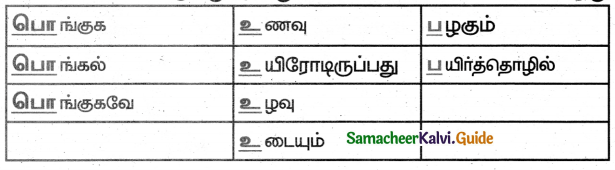 Samacheer Kalvi 5th Tamil Guide Chapter 6.1 உழவுப் பொங்கல் - 1