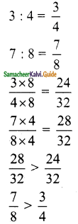 Samacheer Kalvi 6th Maths Guide Term 1 Chapter 3 Ratio and Proportion Ex 3.2 6