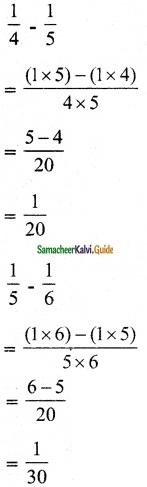 Samacheer Kalvi 6th Maths Guide Term 3 Chapter 1 Fractions Ex 1.2 13