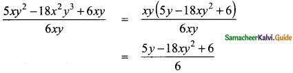 Samacheer Kalvi 8th Maths Guide Answers Chapter 3 Algebra Ex 3.2 6