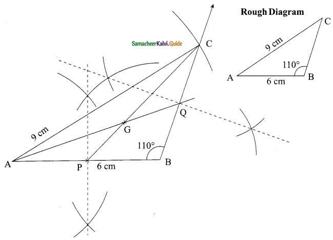 Samacheer Kalvi 9th Maths Guide Chapter 4 Geometry Ex 4.5 3