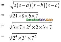 Samacheer Kalvi 9th Maths Guide Chapter 7 Mensuration Additional Questions 2