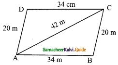 Samacheer Kalvi 9th Maths Guide Chapter 7 Mensuration Ex 7.1 14