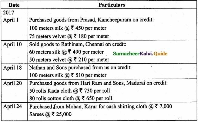 Tamil Nadu 11th Accountancy Model Question Paper 3 English Medium img 19