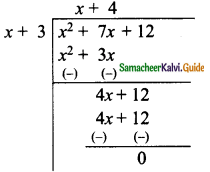 Samacheer Kalvi 9th Maths Guide Chapter 3 Algebra Ex 3.7 6