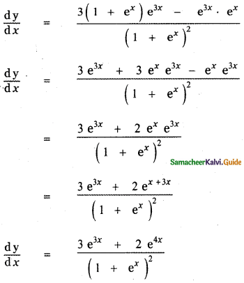 Samacheer Kalvi 11th Maths Guide Chapter 10 Differentiability and Methods of Differentiation Ex 10.3 14