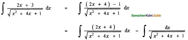 Samacheer Kalvi 11th Maths Guide Chapter 11 Integral Calculus Ex 11.11 14