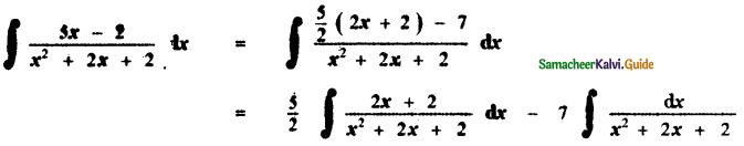 Samacheer Kalvi 11th Maths Guide Chapter 11 Integral Calculus Ex 11.11 3