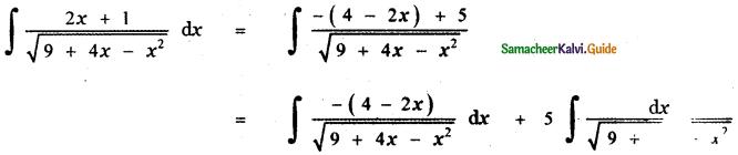 Samacheer Kalvi 11th Maths Guide Chapter 11 Integral Calculus Ex 11.11 9