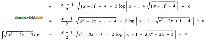 Samacheer Kalvi 11th Maths Guide Chapter 11 Integral Calculus Ex 11.12 4