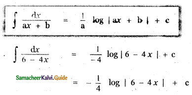 Samacheer Kalvi 11th Maths Guide Chapter 11 Integral Calculus Ex 11.2 5