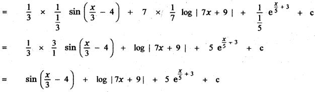 Samacheer Kalvi 11th Maths Guide Chapter 11 Integral Calculus Ex 11.3 12