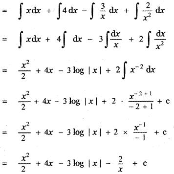 Samacheer Kalvi 11th Maths Guide Chapter 11 Integral Calculus Ex 11.5 3