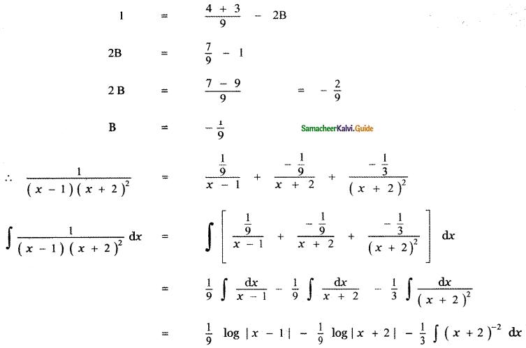 Samacheer Kalvi 11th Maths Guide Chapter 11 Integral Calculus Ex 11.5 37