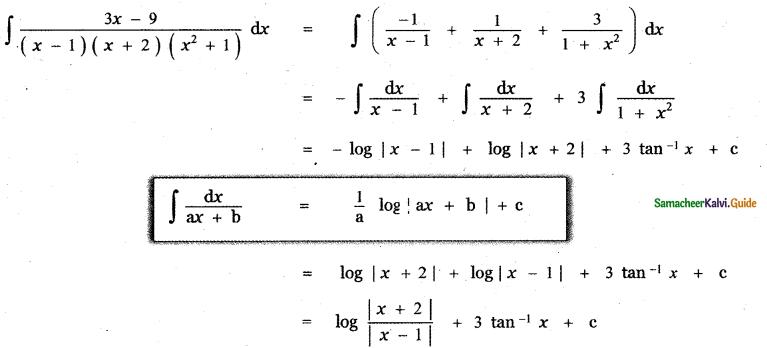 Samacheer Kalvi 11th Maths Guide Chapter 11 Integral Calculus Ex 11.5 42