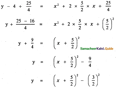 Samacheer Kalvi 11th Maths Guide Chapter 2 Basic Algebra Ex 2.4 13