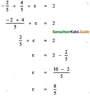Samacheer Kalvi 11th Maths Guide Chapter 2 Basic Algebra Ex 2.4 2