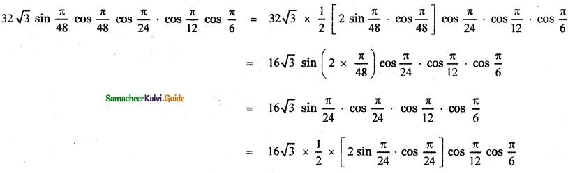 Samacheer Kalvi 11th Maths Guide Chapter 3 Trigonometry Ex 3.5 22