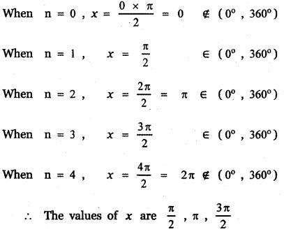 Samacheer Kalvi 11th Maths Guide Chapter 3 Trigonometry Ex 3.8 4