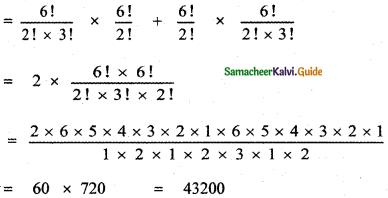 Samacheer Kalvi 11th Maths Guide Chapter 4 Combinatorics and Mathematical Induction Ex 4.2 14