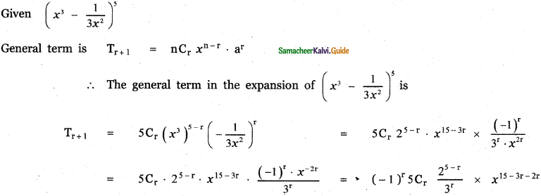 Samacheer Kalvi 11th Maths Guide Chapter 5 Binomial Theorem, Sequences and Series Ex 5.1 14