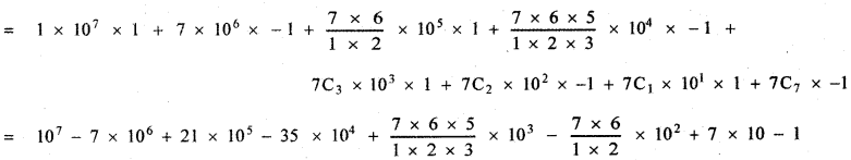 Samacheer Kalvi 11th Maths Guide Chapter 5 Binomial Theorem, Sequences and Series Ex 5.1 7