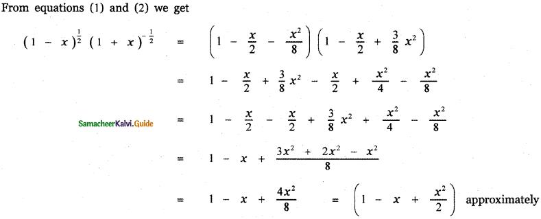 Samacheer Kalvi 11th Maths Guide Chapter 5 Binomial Theorem, Sequences and Series Ex 5.4 13