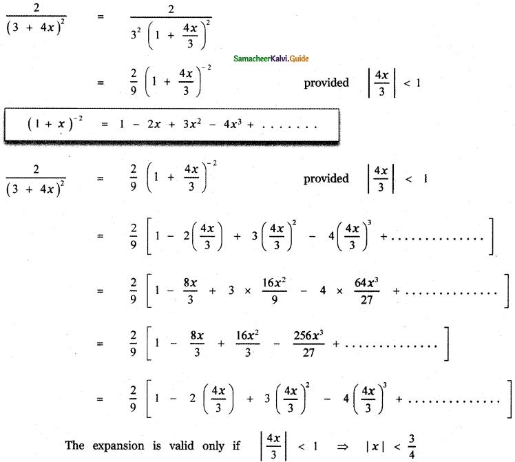Samacheer Kalvi 11th Maths Guide Chapter 5 Binomial Theorem, Sequences and Series Ex 5.4 3