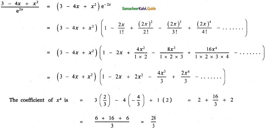 Samacheer Kalvi 11th Maths Guide Chapter 5 Binomial Theorem, Sequences and Series Ex 5.4 30
