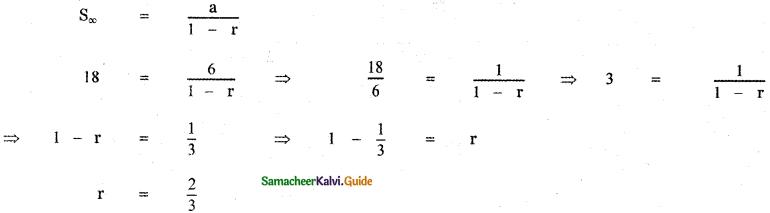 Samacheer Kalvi 11th Maths Guide Chapter 5 Binomial Theorem, Sequences and Series Ex 5.5 18