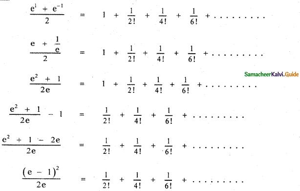Samacheer Kalvi 11th Maths Guide Chapter 5 Binomial Theorem, Sequences and Series Ex 5.5 21