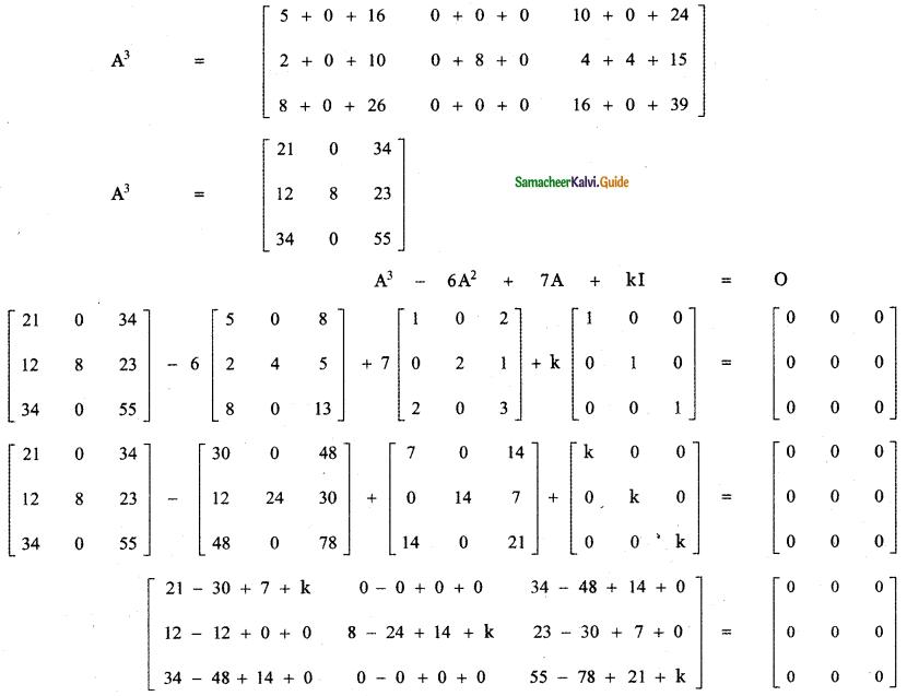 Samacheer Kalvi 11th Maths Guide Chapter 7 Matrices and Determinants Ex 7.1 23
