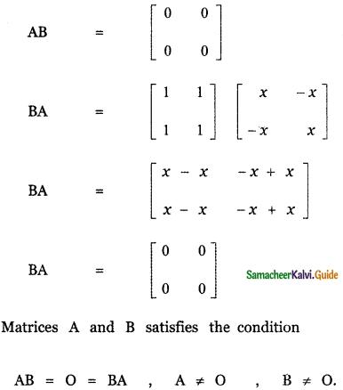Samacheer Kalvi 11th Maths Guide Chapter 7 Matrices and Determinants Ex 7.1 28
