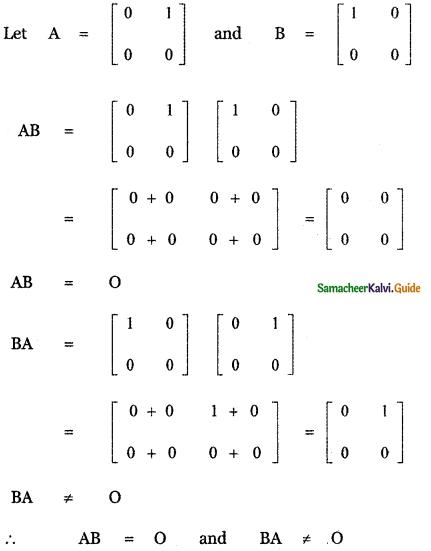 Samacheer Kalvi 11th Maths Guide Chapter 7 Matrices and Determinants Ex 7.1 29