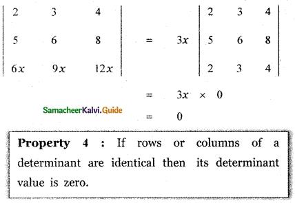 Samacheer Kalvi 11th Maths Guide Chapter 7 Matrices and Determinants Ex 7.2 41