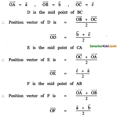 Samacheer Kalvi 11th Maths Guide Chapter 8 Vector Algebra - I Ex 8.1 25