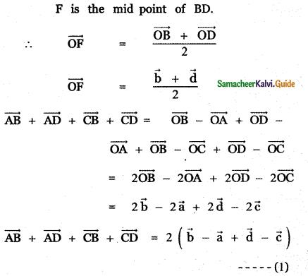 Samacheer Kalvi 11th Maths Guide Chapter 8 Vector Algebra - I Ex 8.1 30