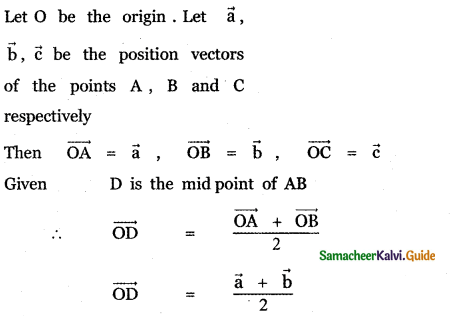 Samacheer Kalvi 11th Maths Guide Chapter 8 Vector Algebra - I Ex 8.1 6